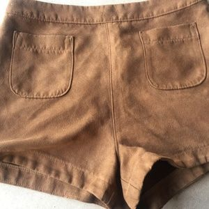 ** 4/$25 Hollister suede shorts